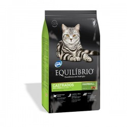 EQUILIBRIO CAT CASTRATED HAIRBALL 1.5kg